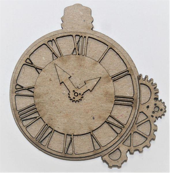Southern Ridge Trading Company Chipboard Clock