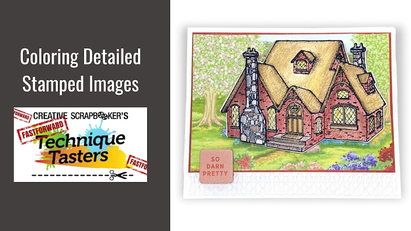 Coloring Detailed Stamped Images – FastForward #48