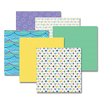 Creative Memories Party Time Designer Paper Pack