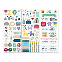 Creative Memories Party Time Stickers