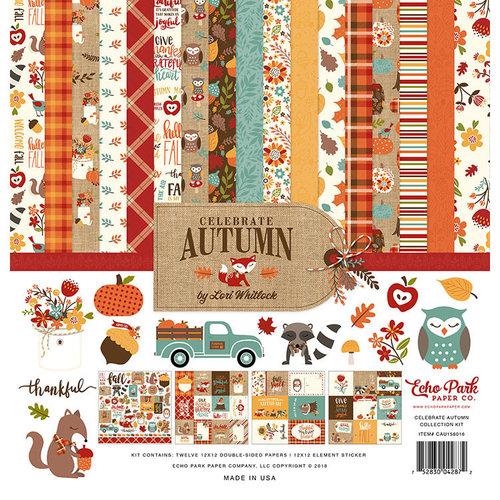 Echo Park Paper Co. Celebrate Autumn Collection