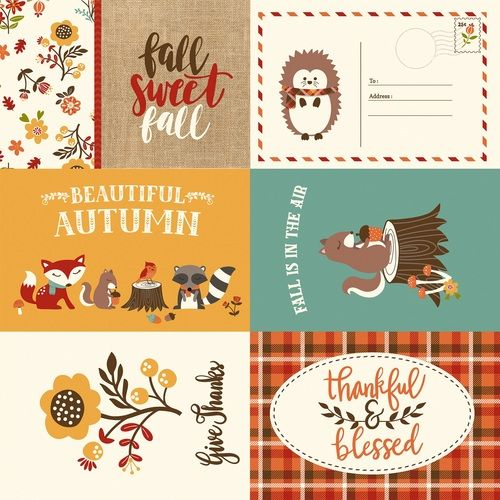 Echo Park Paper Co.Celebrate Autumn Journaling Cards