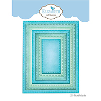 Elizabeth Craft Designs Stitched Rectangle Die