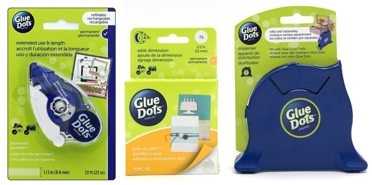 Glue Dots Adhesives - Creative Scrapbooker Magazine