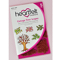 Heartfelt Creations Cottage Tree 'scapes Dies