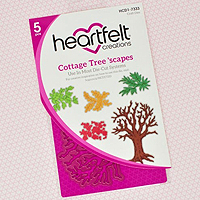 Heartfelt Creations Cottage Tree 'scapes Stamps