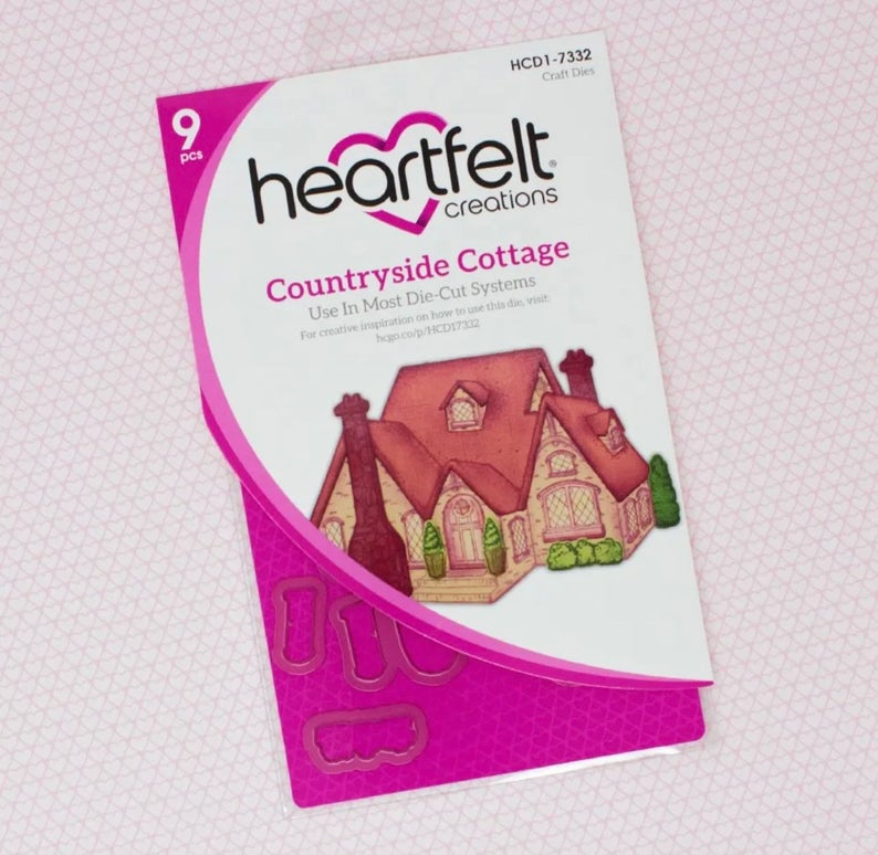 Heartfelt Creations Countryside Cottage Coordinating Die Set
