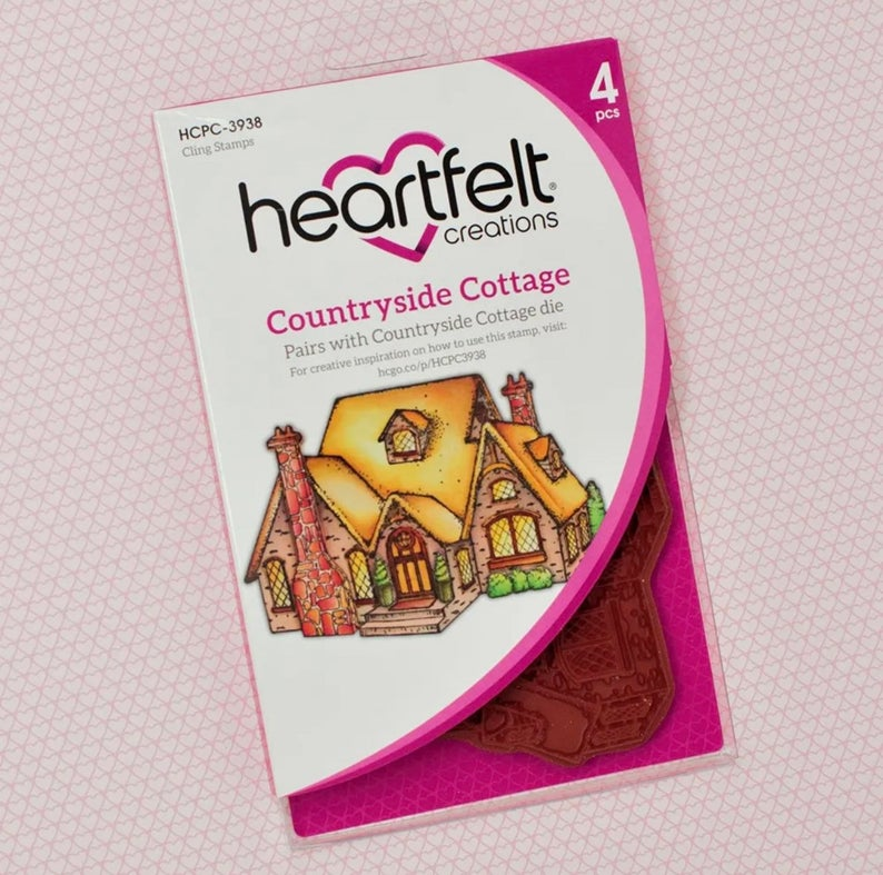 Heartfelt Creations Countryside Cottage Stamp Set