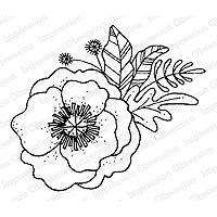 Impression Obsession - Flower Poppy Stamp