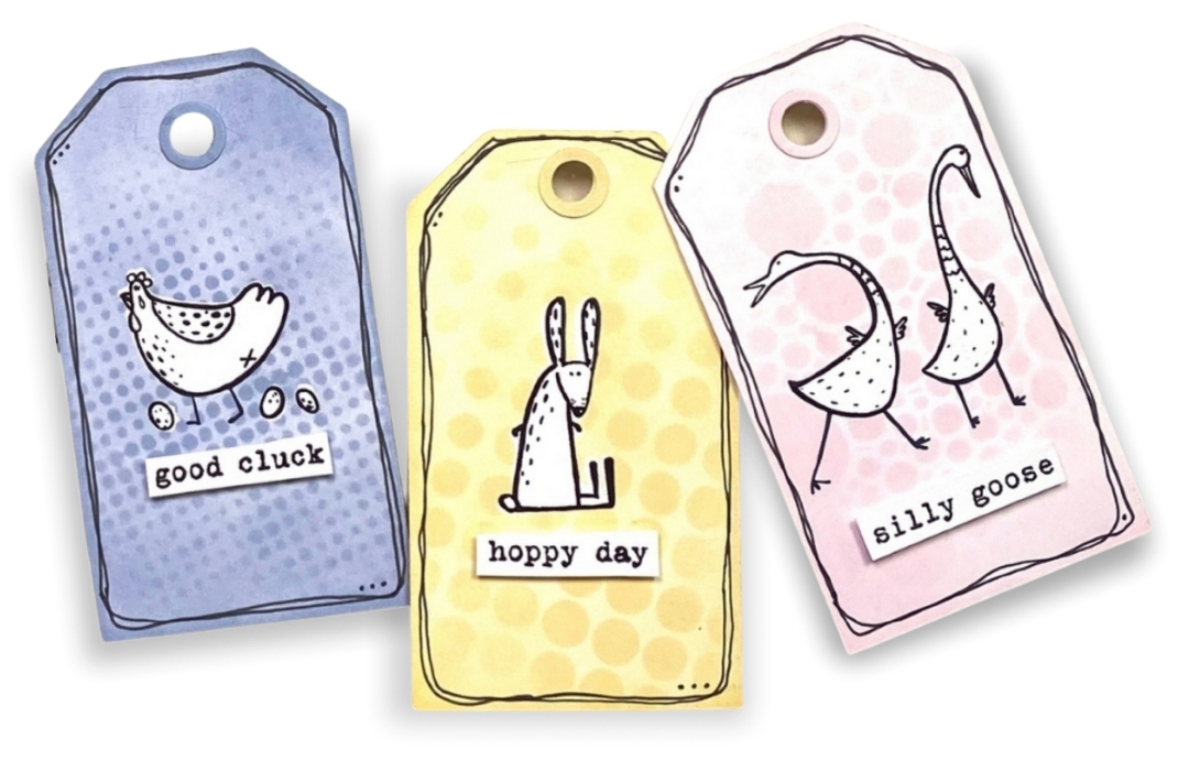 Jackie Ludlage - Easter Tags - Stampers Anonymous