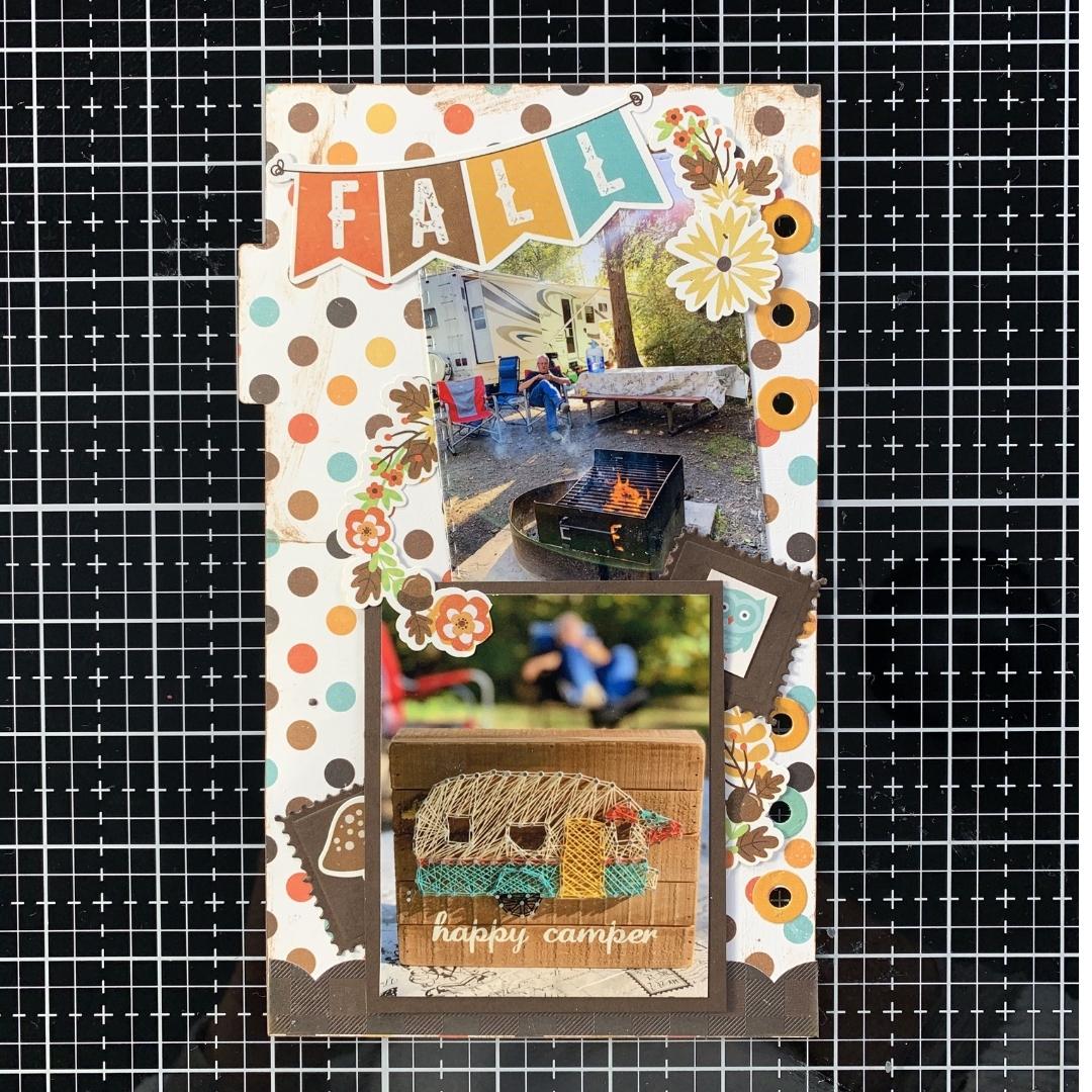 Kerry Engel - Fall - Echo Park Paper - Elizabeth Craft designs