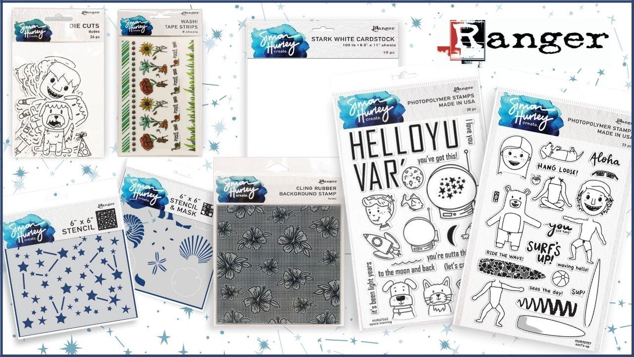 Ranger - Simon Hurley Create - Giveaway - Creative Scrapbooker Magazine