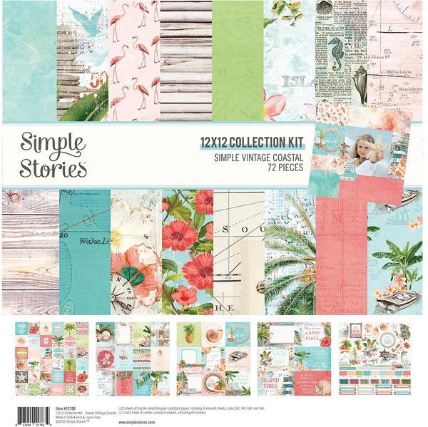 Simple Stories Simple Vintage Coastal Collection - Creative Scrapbooker Magazine