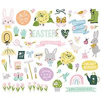 Simple Stories Bunnies & Blooms Bits & Pieces