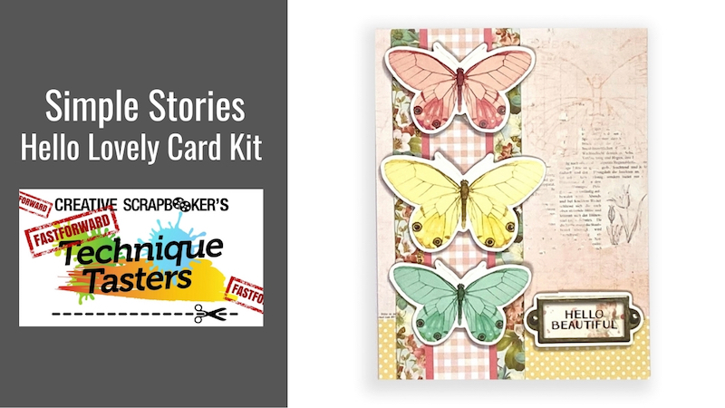 Simple Stories Hello Lovely Card Kit – FastForward #45