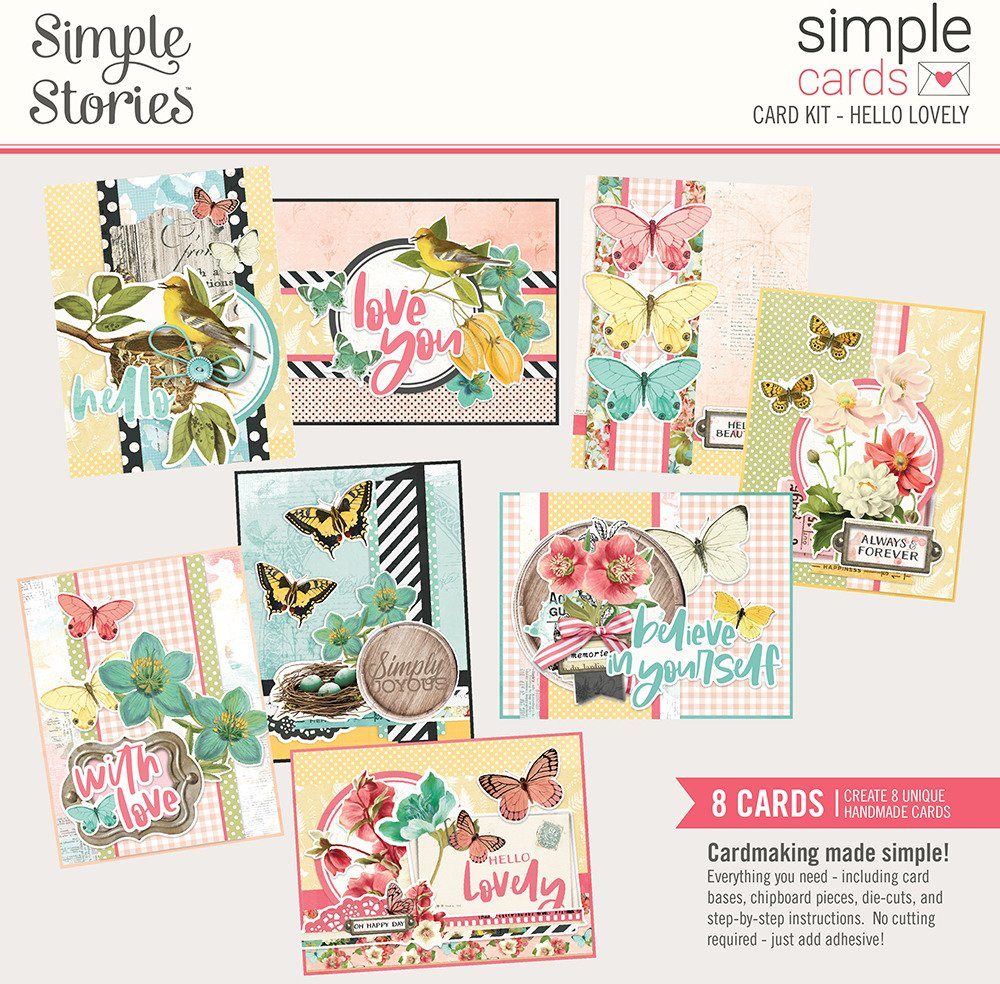 Simple Stories Simple Cards - Card Kit - Hello Lovely