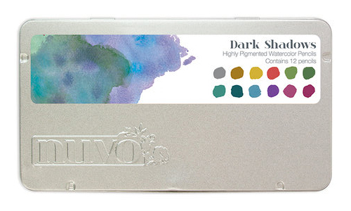 Tonic Studios Nuvo Watercolor Pencils - Dark Shadows and Pastel Highlights -1