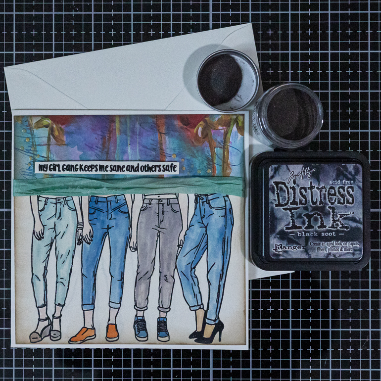 Ranger Distress Ink and Embossing Glaze