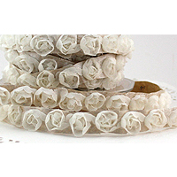 Rosette Trim Ribbon