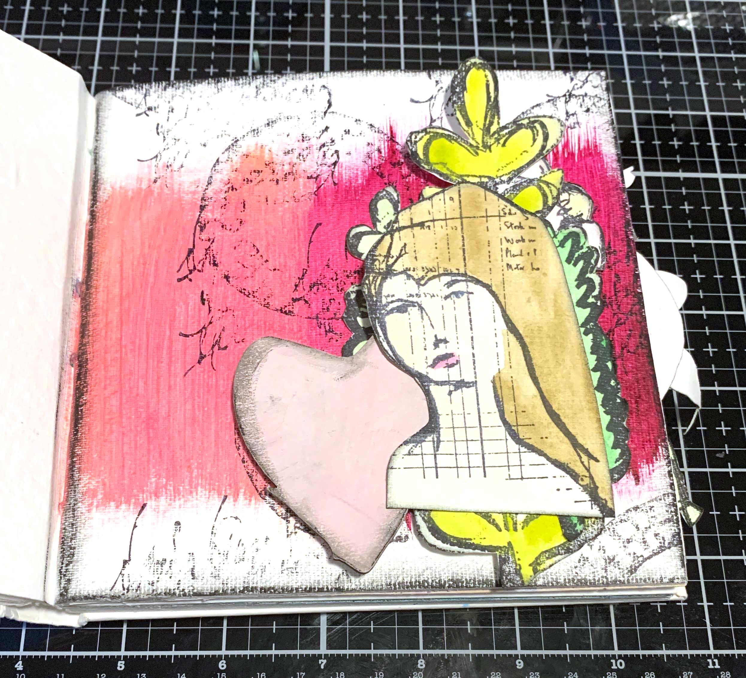 Katelyn Grosart - Art Journal - Dina Wakley Media - Creative Scrapbooker Magazine