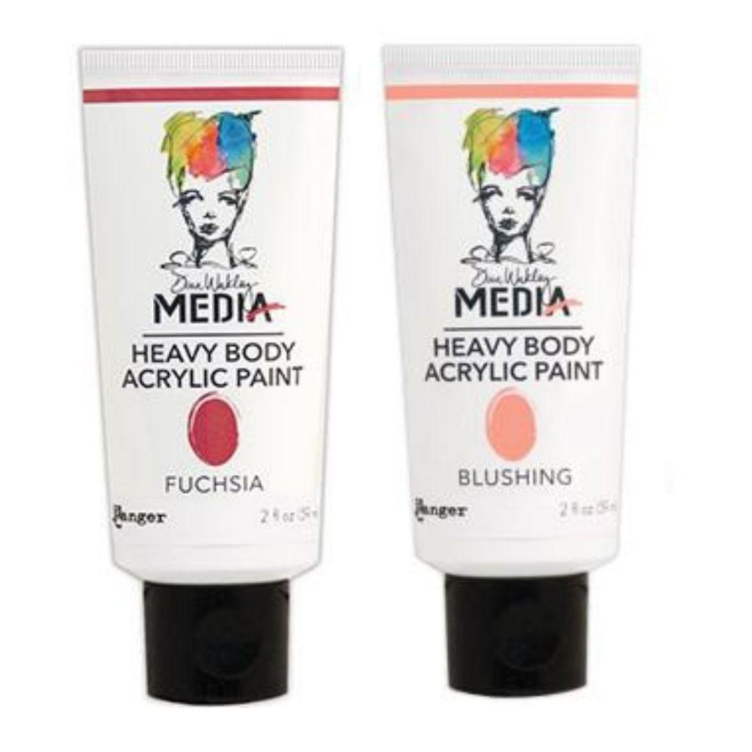 Dina Wakley Media Heavy Body Acrylic Paint