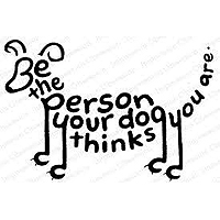 Impression Obsession- Be the Person Your Dog Thinks You Are – Stamp