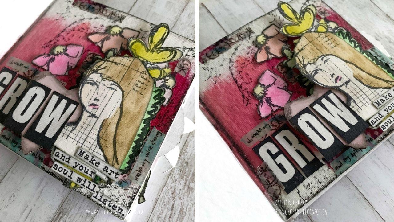 Katelyn Grosart - Art Journal - Creative Scrapbooker Magazine