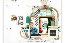 Marielle LeBlanc - Creative Scrapbooker Magazine-Spring 216