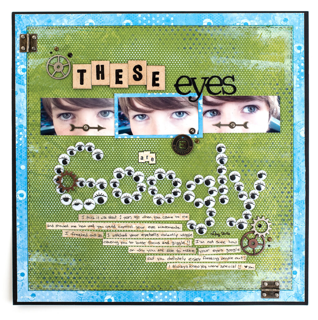 Michelle King - Creative Scrapbooker Magazine