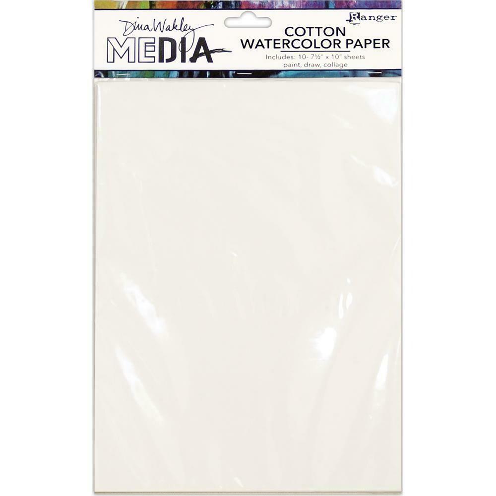 Ranger Dina Wakley Media Cotton Watercolor Paper