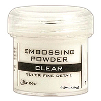 Ranger Super Fine Clear Embossing Powder