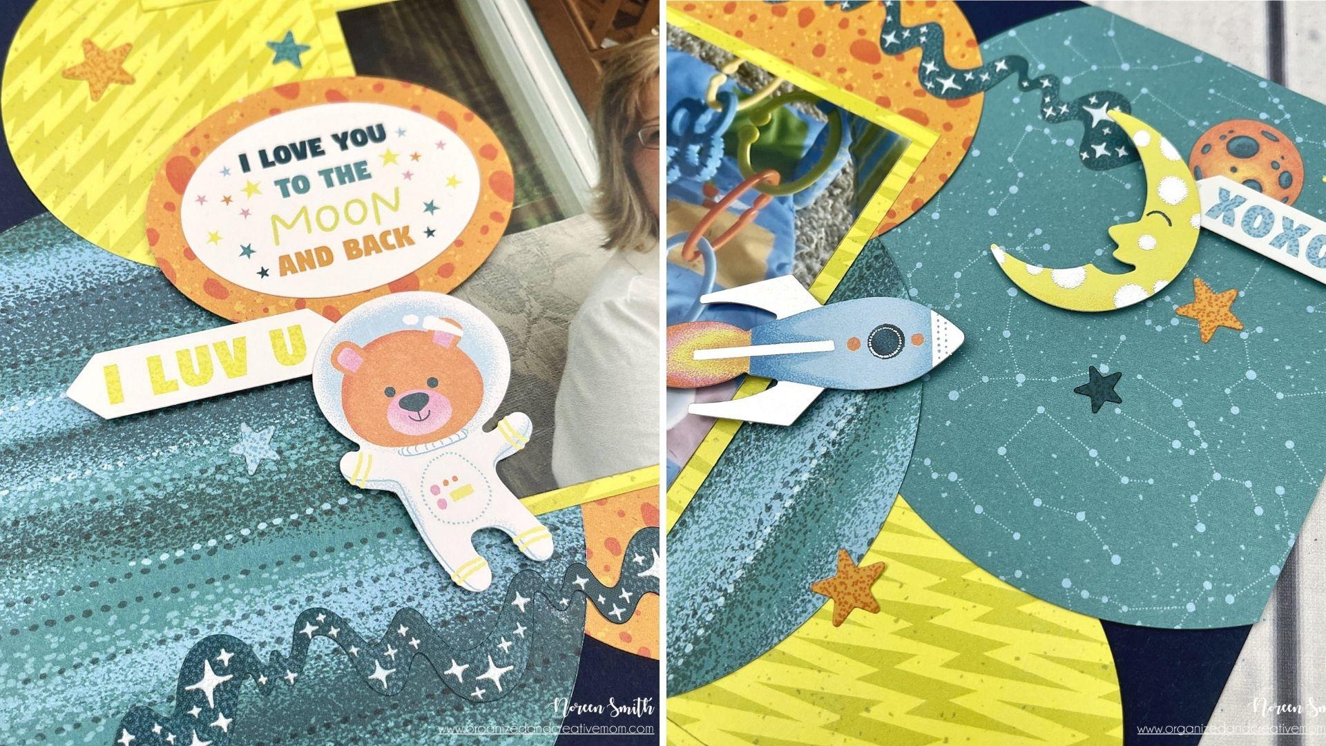 Details - Creative Memories - Outta This World - Scrapbook Layout