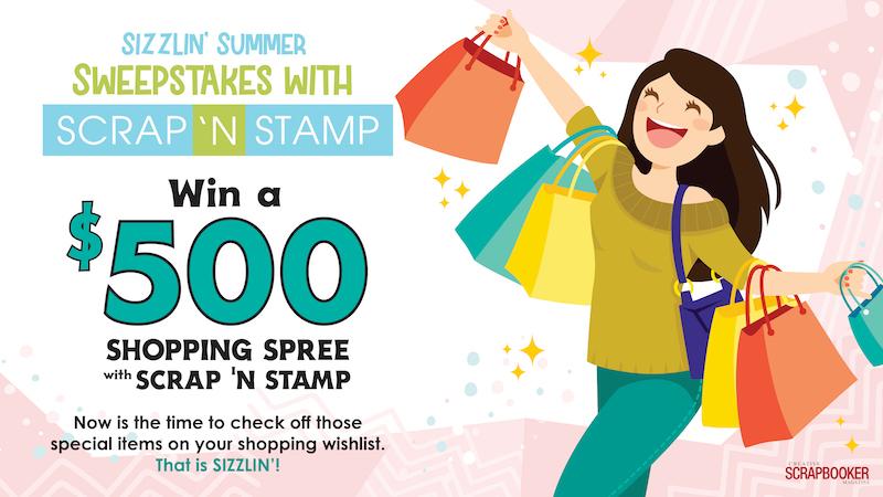 Scrap n Stamp - GIVEAWAY!