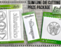 Slim Line Die Cutting Prize Package