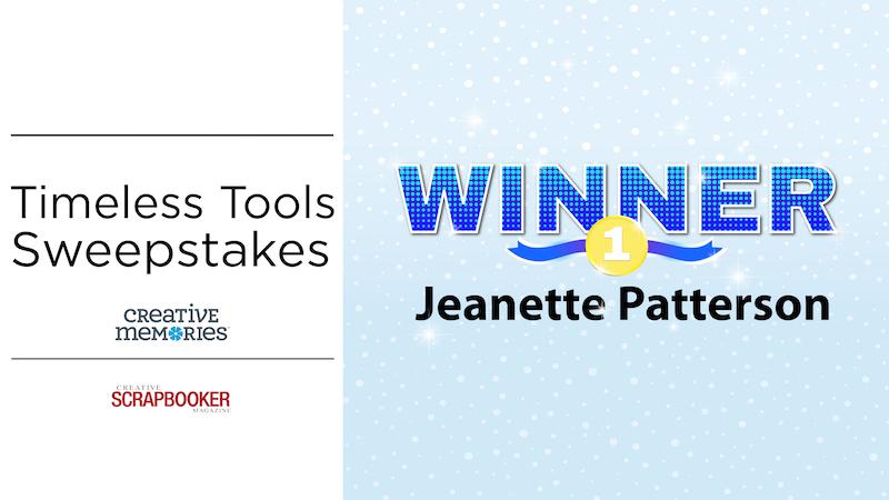 Timeless Tools Winner