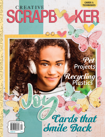 Summer 2021 Issue Creative Scrapbooker Magazine