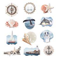 Creative Memories Seaside Layered Embellishments