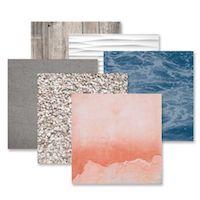 Creative Memories Seaside Tone-on-Tone Paper Pack