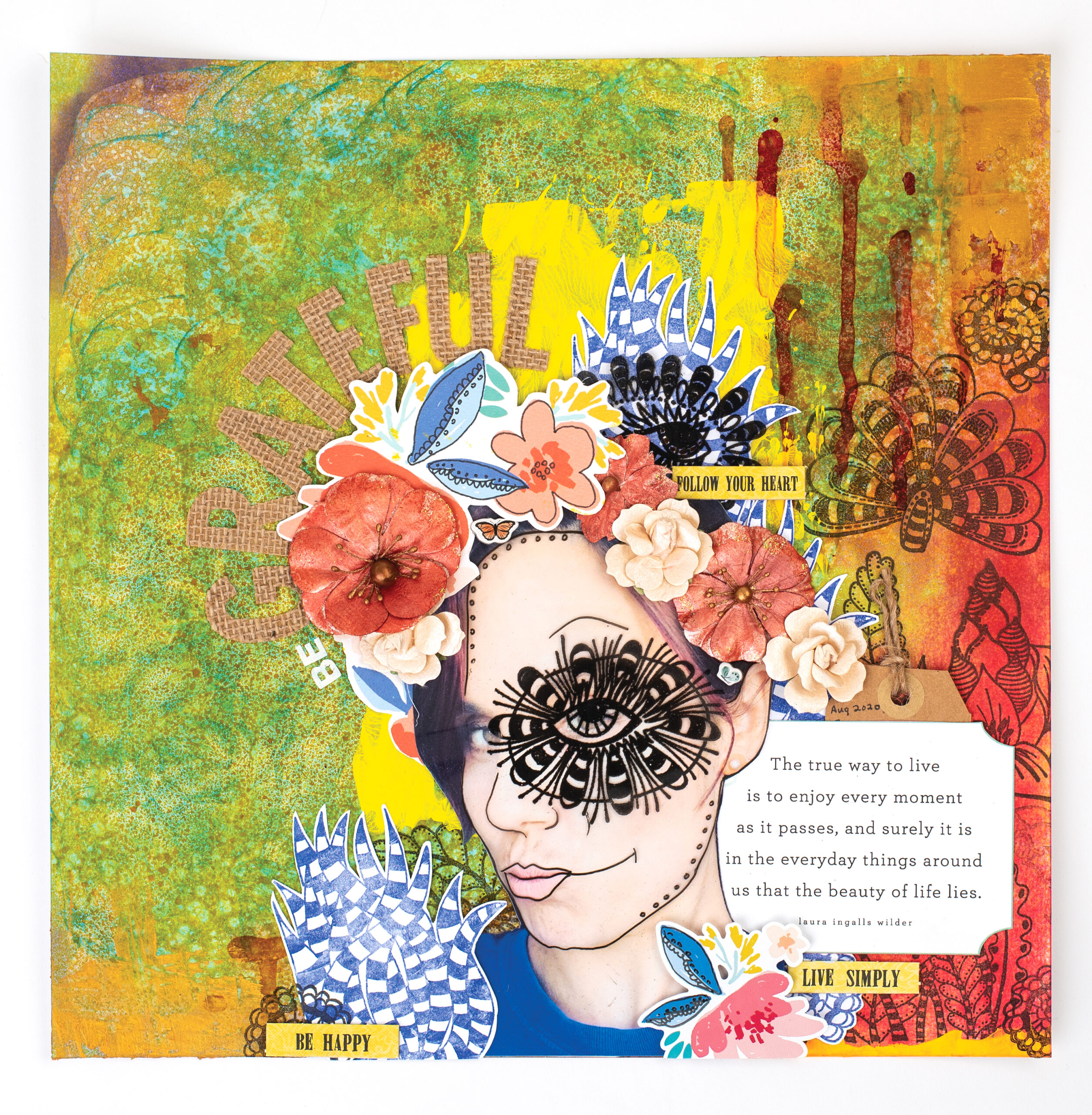 Desiree Saskiw - Stampers Anonymous - Creative Scrapbooker Magazine