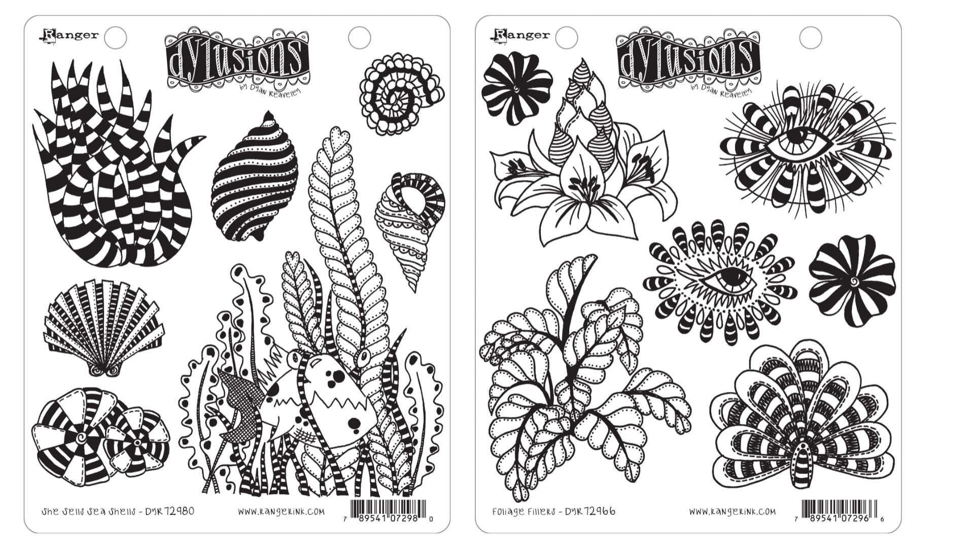 Dylusions Stamps Ranger