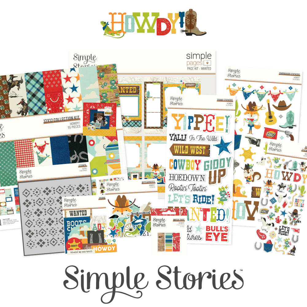 Simple Stories - Howdy Collection - Giveaway - Creative Scrapbooker Magazine