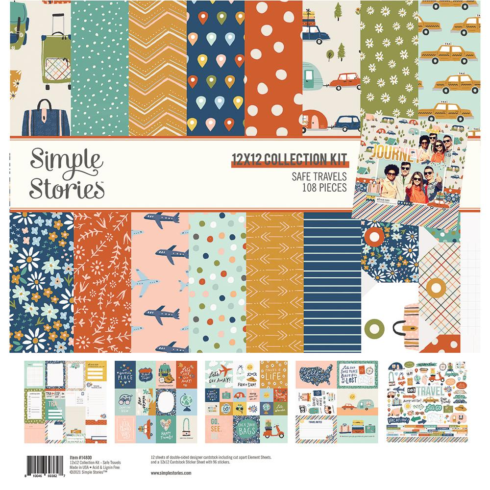 Safe Travels Collections - Simples Stories - Creative Scrapbooker Magazine