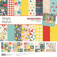 Simple Stories Summer Farmhouse Patterned Paper