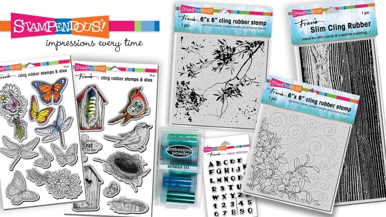 Stampendous Giveaway - Creative Scrapbooker Magazine