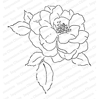 Impression Obsession Fairy Rose Stamp