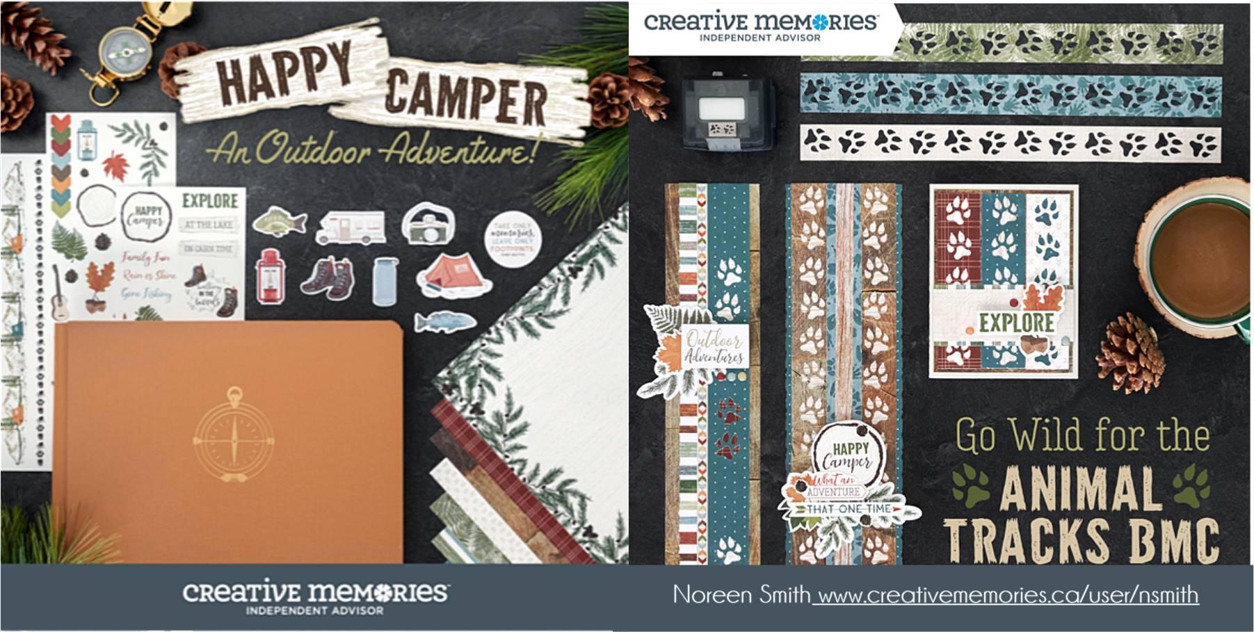Creative Memories Happy Camper Collection
