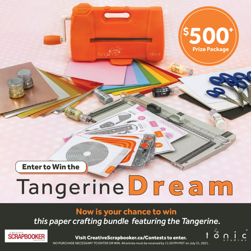Tonic Studios Prize Package - Tangerine Dream