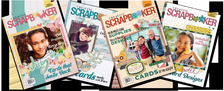 Creative Scrapbooker Magazine | 4 Cover spread