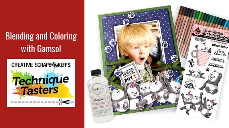 Blending and Coloring with Gamsol – Technique Tasters #267