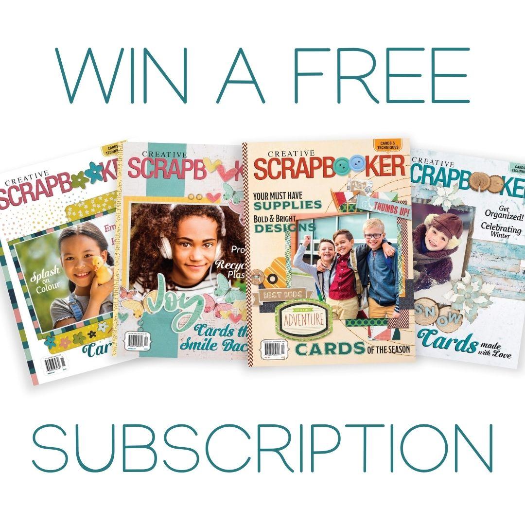 Creative Scrapbooker Magazine - Subscription Giveaway